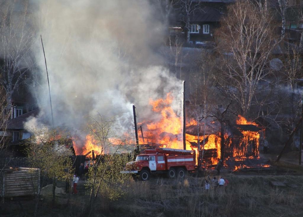 Пожарная безопасность в весенний период